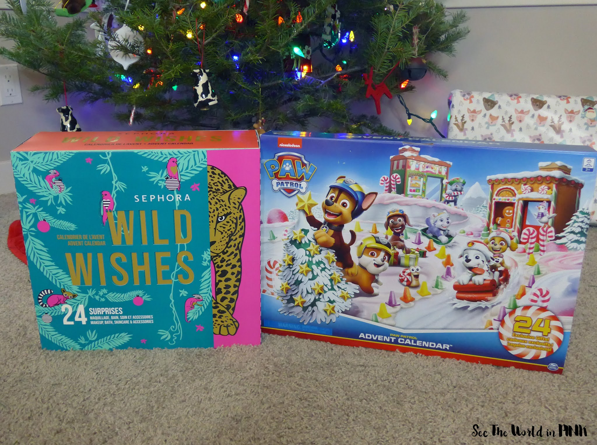 Family Advent Calendars ~ Sephora Collection, Kin + Pod Chocolate, Yawn Brew Hot Chocolate and Paw Patrol!