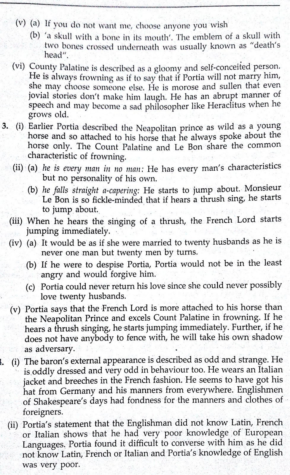 merchant of venice exam questions and answers pdf