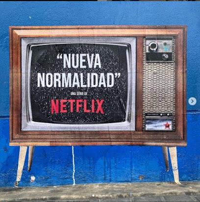 """Big Rex 1 image of TV """"Nueva Normalidad"""""""