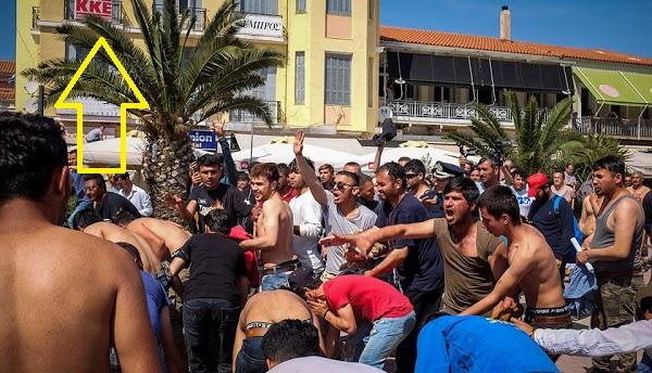 Μυτιλήνη:Καλοκαίρι 2018…Μην αφήστε Σπιθαμή Γης σε Μογγολία και Άραβες κομμουνιστές και νομιζουν οτι ειναι και απόγονοι Ελλήνων!
