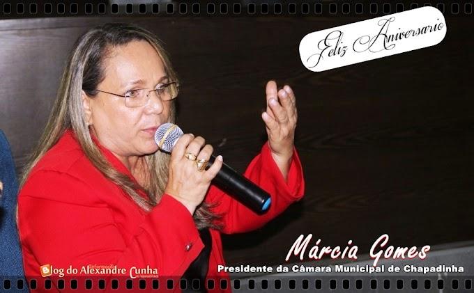 CLICK DO DIA! Parabéns a vereadora Márcia Gomes pela passagem de seu aniversário