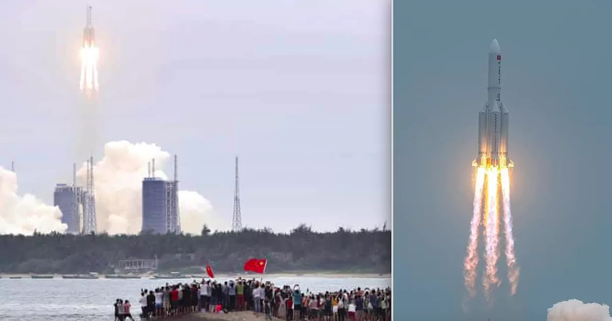 Out Of Control Chinese Rocket Travelling At 4 Miles Per Second Is Set To Hit The Earth On Saturday