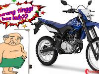 Badan Tidak Tinggi, Bisakah Naik Yamaha WR155 R ?