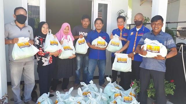 AMBO : Terima Kasih Kapolda Bantuan Sembakonya