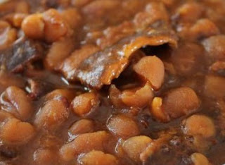 amish pork and beans