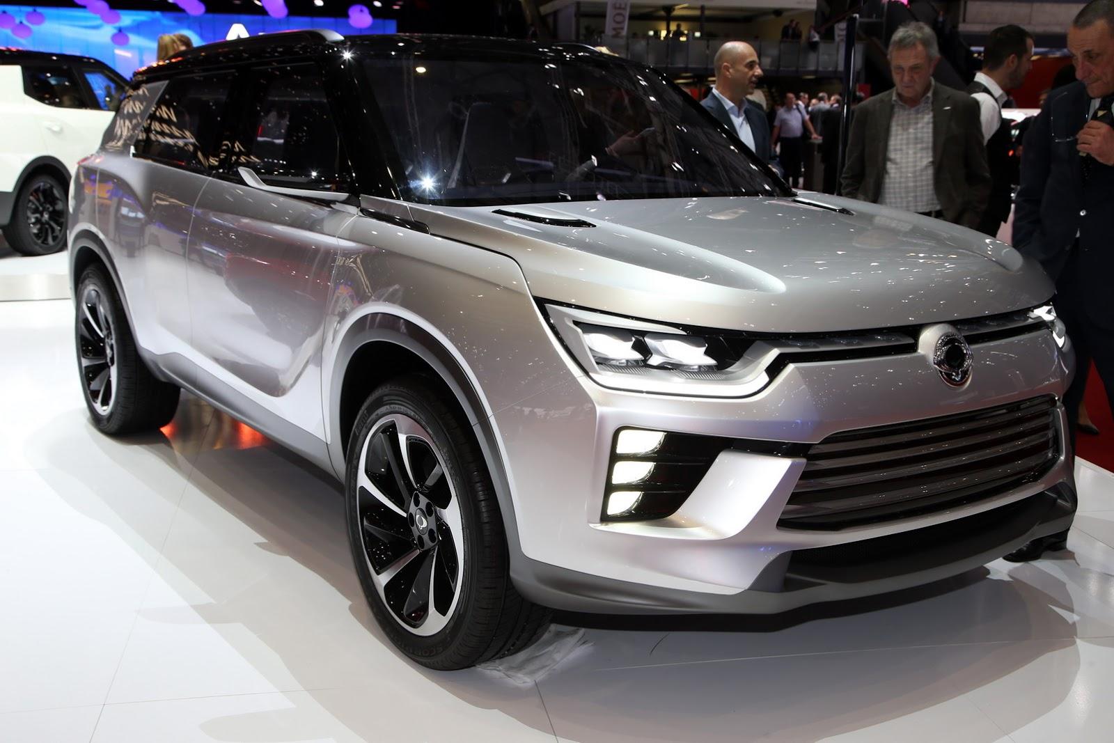 SsangYong SIV-2 Concept 2016 - Nhiều kỳ vọng cho tương lai