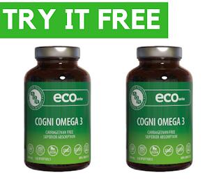 Get a FREE 6-capsule sample of AOR's Vegan Omega 3 Softgels