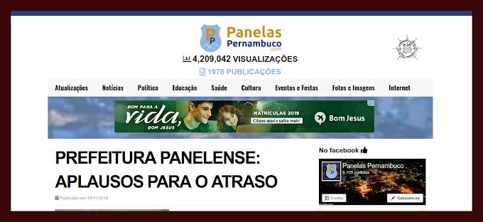 NOVO ARTIGO DE PIERRE LOGAN E COMO OS ATRASOS DA PREFEITURA SEMPRE SÃO APLAUDIDOS