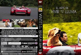 CARATULA EL ARTE DE VIVIR BAJO LA LLUVIA 2019[COVER DVD]