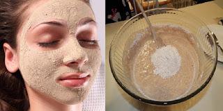 Un masque visage hydratant à la levure