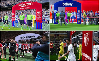 Images - LaLiga Team Entrances
