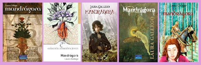 portada de la novela juvenil de fantasía Mandrágora, de Laura Gallego