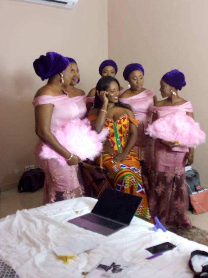 Photos: Sarkodie Weds Tracy