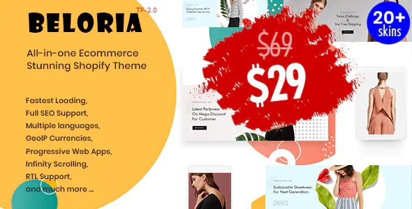 Fastest Multi Languages Shopify Fashion Theme