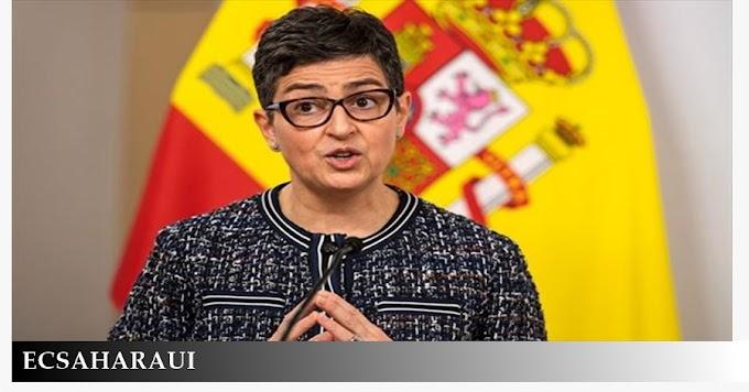 """Arancha González: """"España y EE.UU están de acuerdo en que la solución en el Sáhara Occidental debe ser impulsada por la ONU""""."""