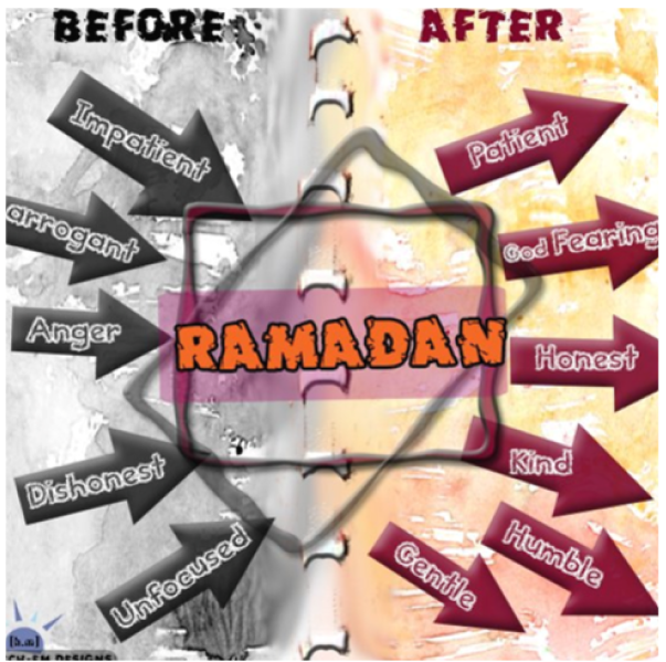 Before Ramadan After