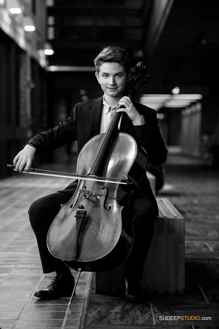 Musician Portraits Cello Music Album Cover Photography SudeepStudio.com Ann Arbor Music Commercial Photographer