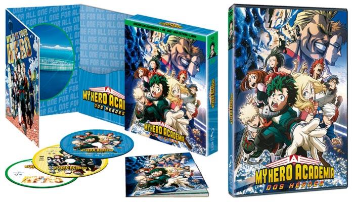 My Hero Academia: Dos Héroes anime BD/DVD - Selecta Visión