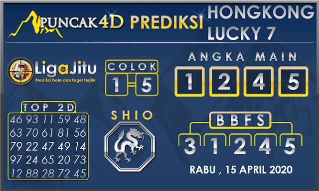 PREDIKSI TOGEL HONGKONG LUCKY7 PUNCAK4D 15 APRIL 2020