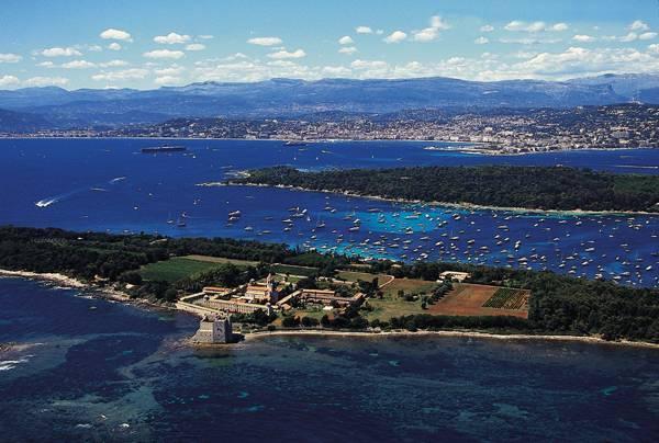 Ilhas Îles de Lérins em Cannes