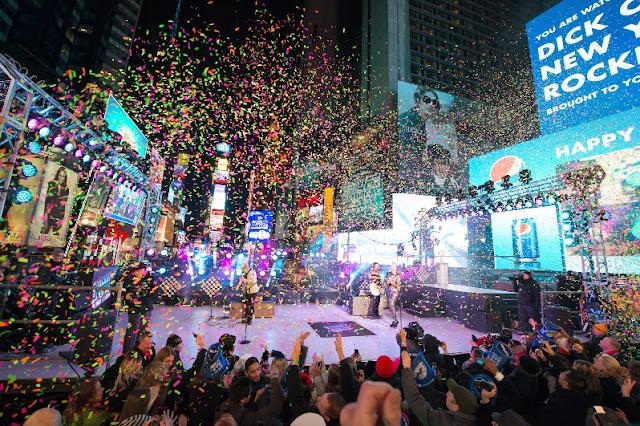 Festa de Ano-Novo na Times Square em Nova York