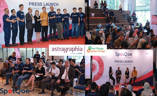Press Launch Aplikasi SpotQoe - Blog Mas Hendra