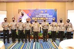 Kapolda Jateng Beri Arahan Persiapan Operasi Ketupat Candi 2021 Pada Kapolres Eks Wil Pekalongan dan Kendal