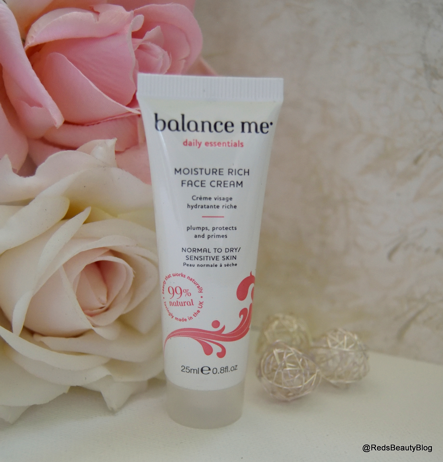a picture of Balance Me Moisture Rich Face Cream