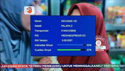 Tampilan Chanel Indosiar Full HD