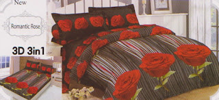 Sprei Lady Rose Romantic Rose