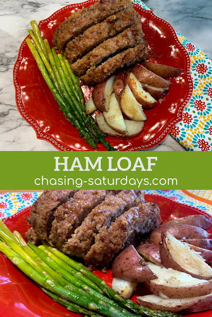 Ham Loaf, Pork, Easter, Christmas, Chasing Saturdays, Recipe