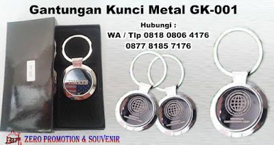 Gantungan Kunci Stainless Bulat, Gantungan kunci Logam + box, Ganci Stainless Steel,  metal keychain