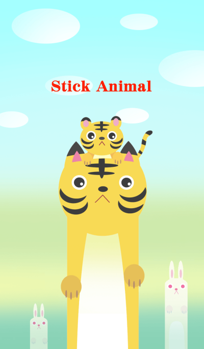Stick Animal (Tiger)