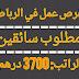 فرص عمل في الرباط: مطلوب سائق خاص براتب 3700 درهم