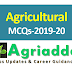 Agricultural MCQs 2019-20 | Agricultural Competitive Examinations