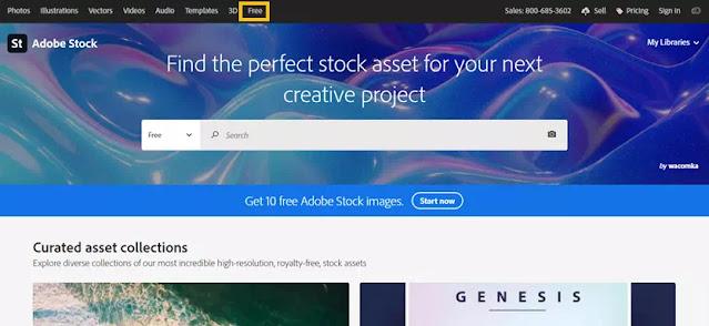 Cara Download Gratis Gambar, Video dan Ilustrasi di Adobe Stock-1