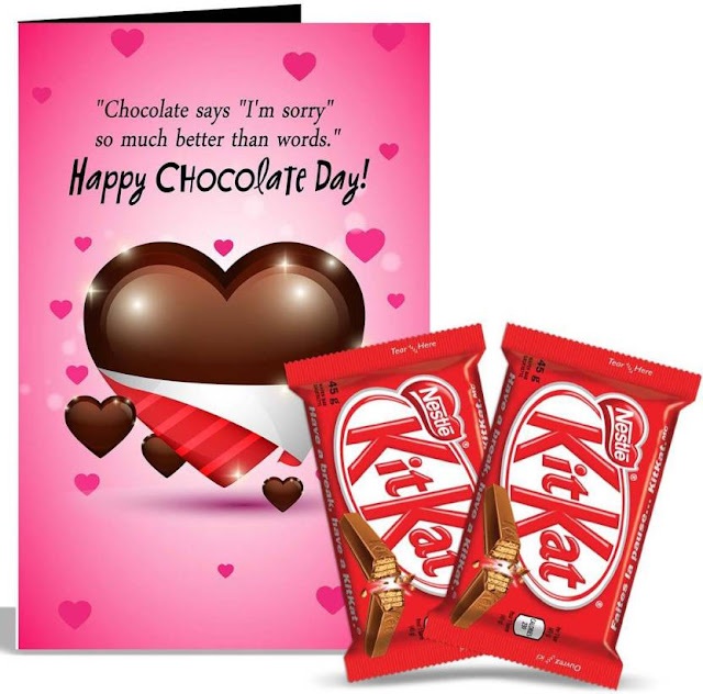 chocolate day best friend