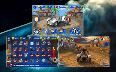 Game Beach Buggy Racing Versi v1.2.11 Apk Mod Money