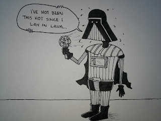 The Far Dark Side - It's Hot Today - Darth Vader