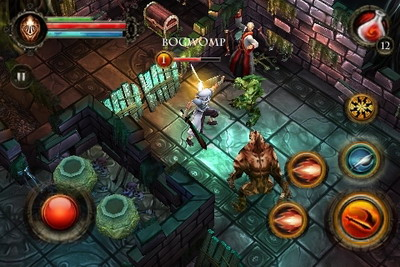 Dungeon Hunter II Trailer released by Gameloft