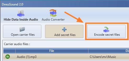 cara-sembunyikan-file-dan-folder-dalam-audio