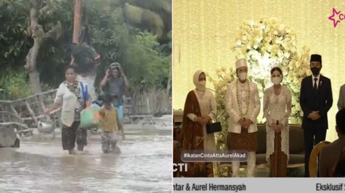 Netizen: NTT Udah Mau Tenggelam, Berita di TV Semuanya Atta-Aurel Nikah
