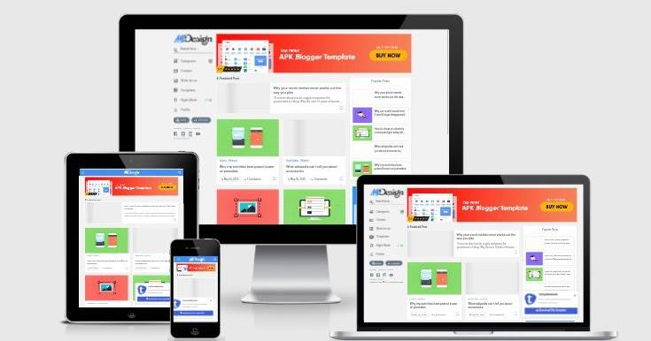 MSD Responsive Grid Style Blogger Template v1 0 Premium
