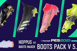 New Boots pack Season Update V5.0.1 AIO - PES 2021