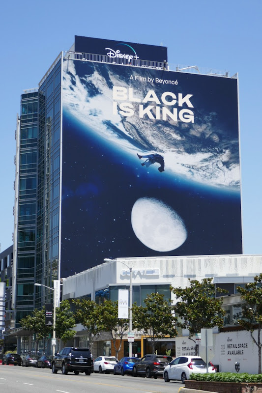 Giant Black Is King film billboard