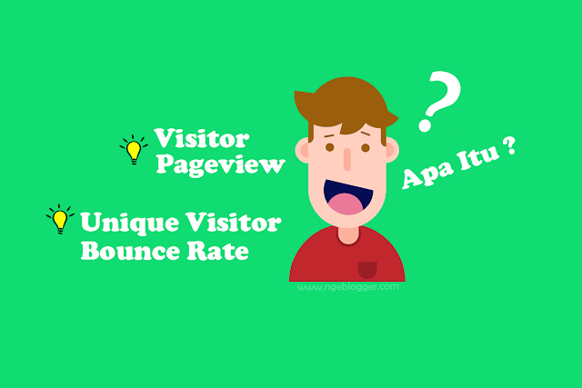 Visitor Pageview unique visitor bounce rate