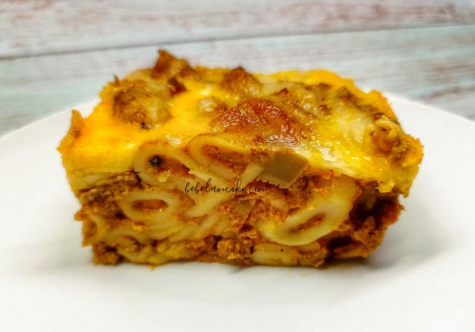 Resipi Makaroni Kari Cheese Bakar