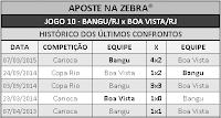 LOTECA 695 - HISTÓRICO JOGO 10