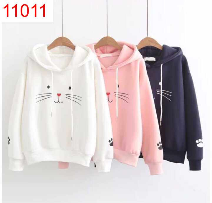 BS SWEATER RABBITFACE HOODIE - 11011