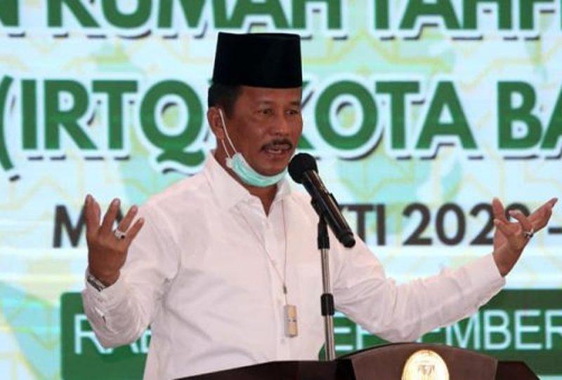 Wali Kota Batam Muhammad Rudi Beri Arahan pada Pengukuhan Pengurus Ikatan Rumah Tahfiz Quran
